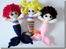 crochet mermaids