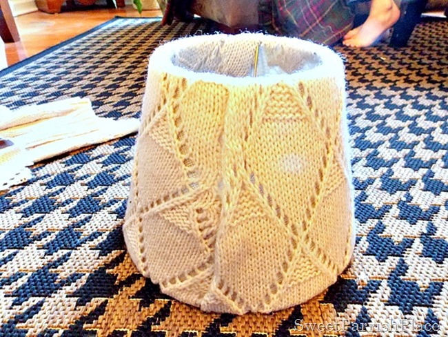 Sweater Lampshade2