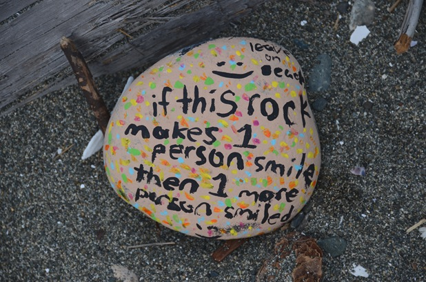 Smiling Rock Qualicum Beach