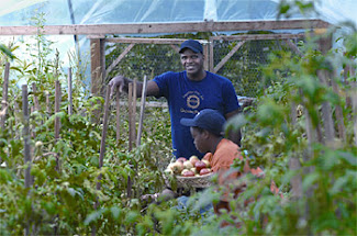 Will Allen, Executive Director, Growing Power Community Food Center; Photo by Mark Avery
