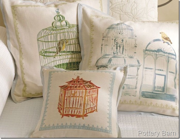 birdcage pillow PB