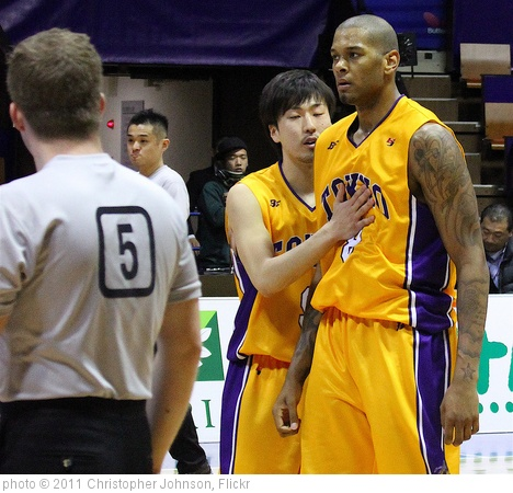 'SPORTS: Under former NBA coach Bob Hill, Jeremy Tyler matures in Japan' photo (c) 2011, Christopher Johnson - license: http://creativecommons.org/licenses/by-sa/2.0/