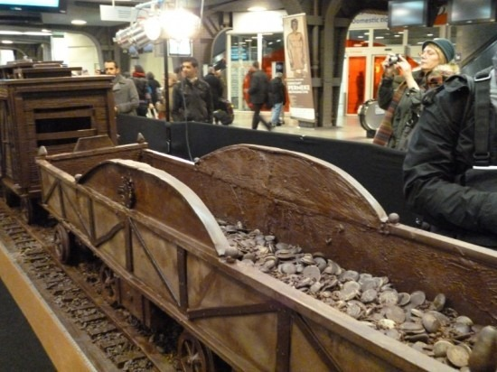 Trem de chocolate Belga 06