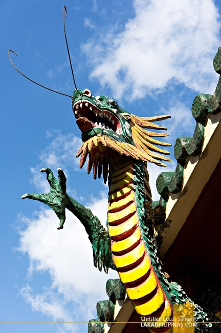 Dragon Details at Baguio City's Bell Church