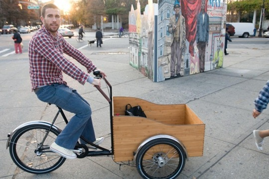 Christiania Boxcycle in Brooklyn