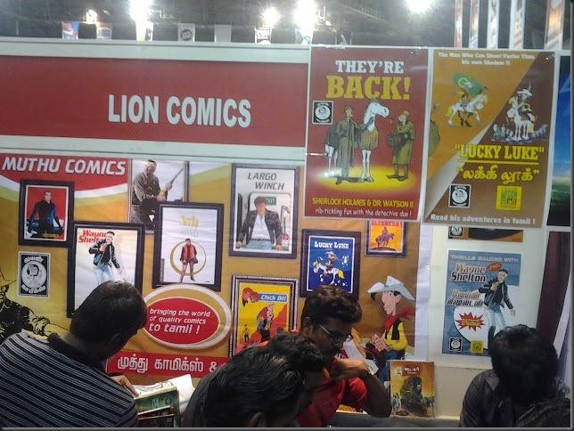 Lion comic con