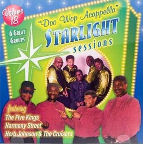 Doo Wop Acappella Starlight Sessions - Volume 18 - Front Cover