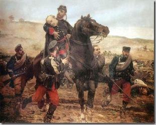 Muerte del Marqués del Duero por Joaquín Agrasot