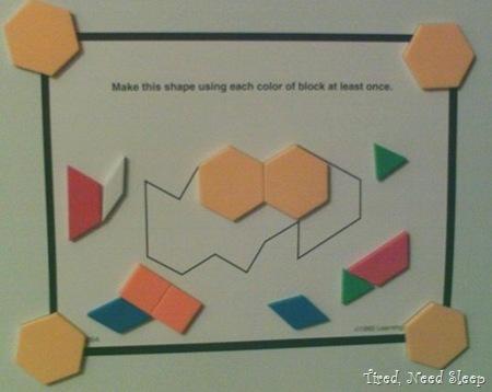 pattern block puzzle