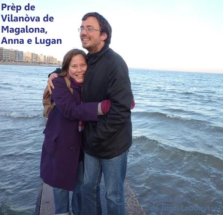 anna e lugan a Vilanòva de Magalona