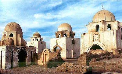 Tombs in the Aswan necropolis, 12th century Sousse.