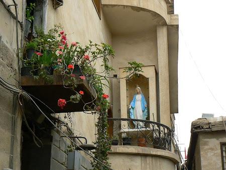 Fecioara Maria in Siria: cartierul crestin din Damasc