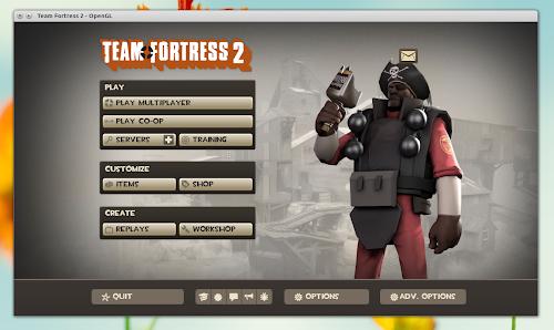 Team Fortress 2 - Steam per Linux