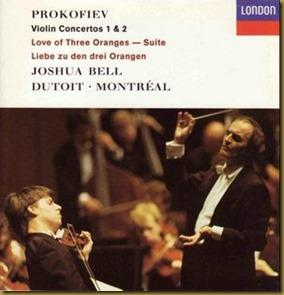 Prokofiev concierto violin 1 Bell Dutoit