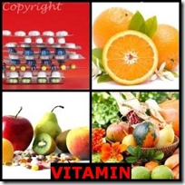 VITAMIN- 4 Pics 1 Word Answers 3 Letters
