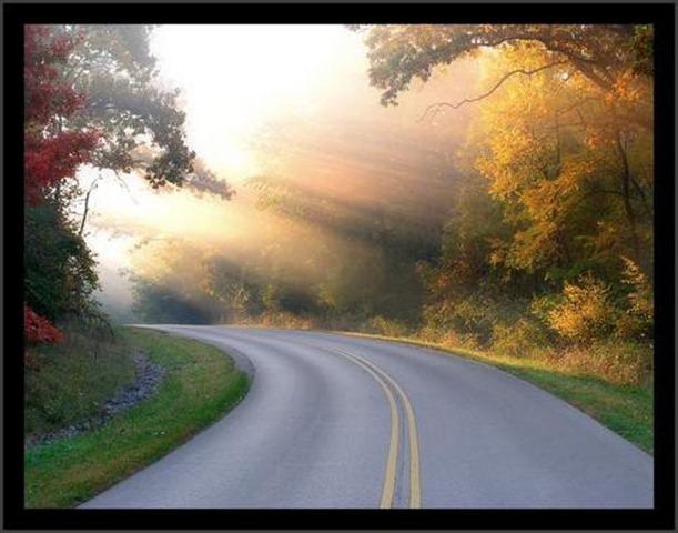 No final da curva há sempre uma luz esperando...