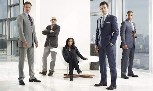 Питер, Моззи, Диана, Нил и Джонс — плакат 2 сезона White Collar