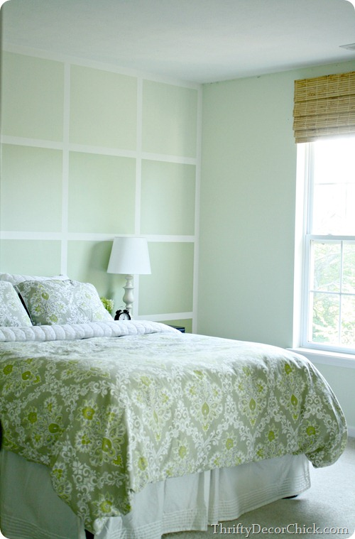 Ombre wall, Dew White Porter Paints