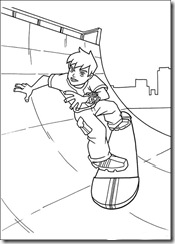 ben-10-33 desenhos para colorir do Ben 10