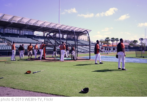 'Orioles take batting practice' photo (c) 2010, WEBN-TV - license: http://creativecommons.org/licenses/by-nd/2.0/