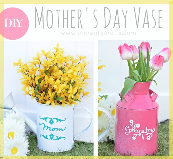 Mother's Day Watering Can Vase Tutorial