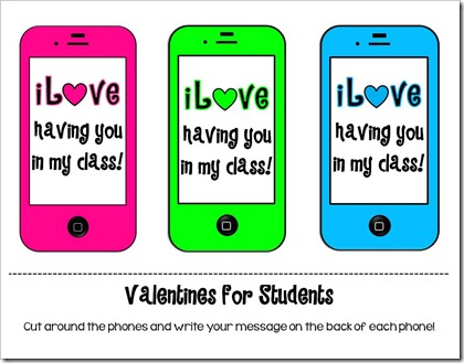 Valentines for Students
