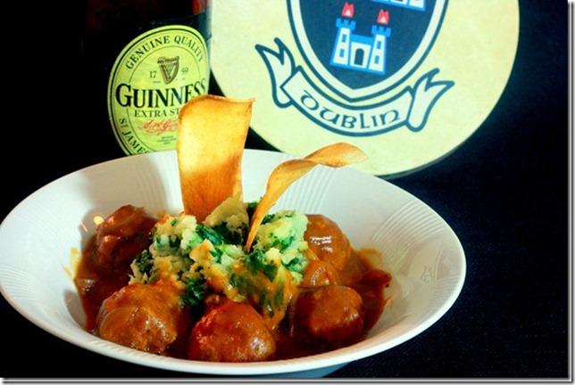 Meatballs-guinness-gravy-colcannon