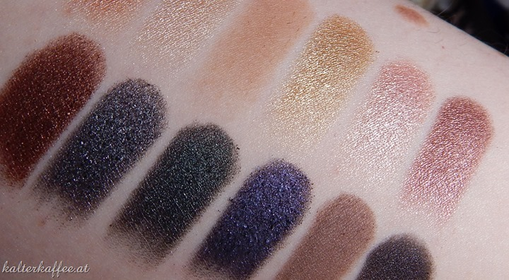 Sleek Make Up Storm Palette Swatches