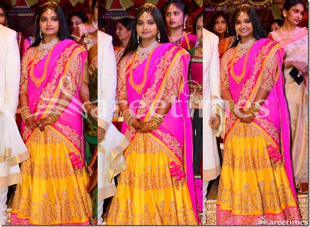 Gopichand_Wedding_Reception_Saree