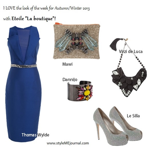 Look of the Week by Etoile on StyleMEjournal.com