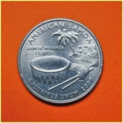 Quarter Samoa Americana