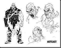OUTCAST - character studies