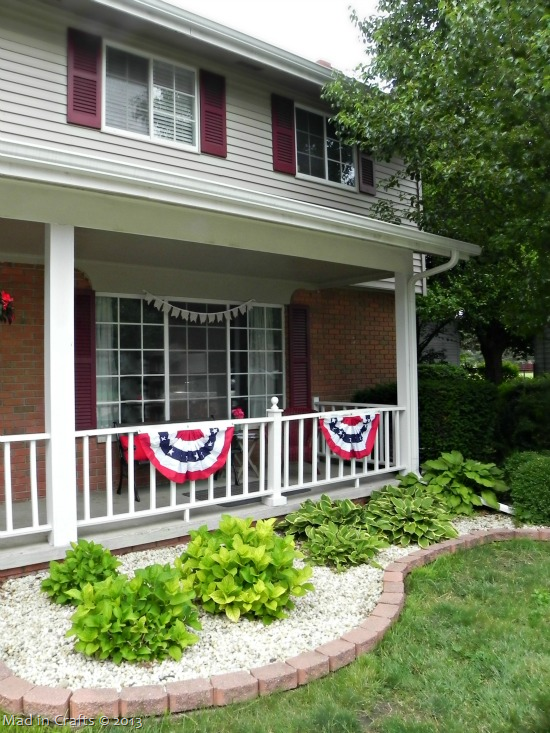 Front Porch with Buntings