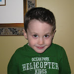 2008 - Eli's Big Boy Hair Cut
