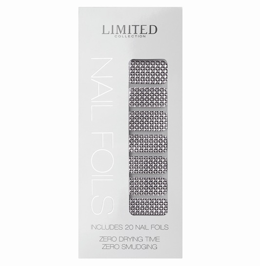 Limited Collection Nail Foils - Silver