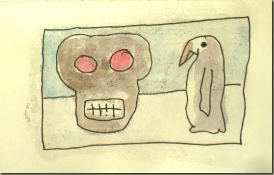 Skull, Penguin