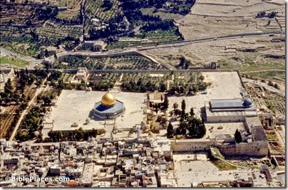 Temple Mount aerial from west, bb00030096
