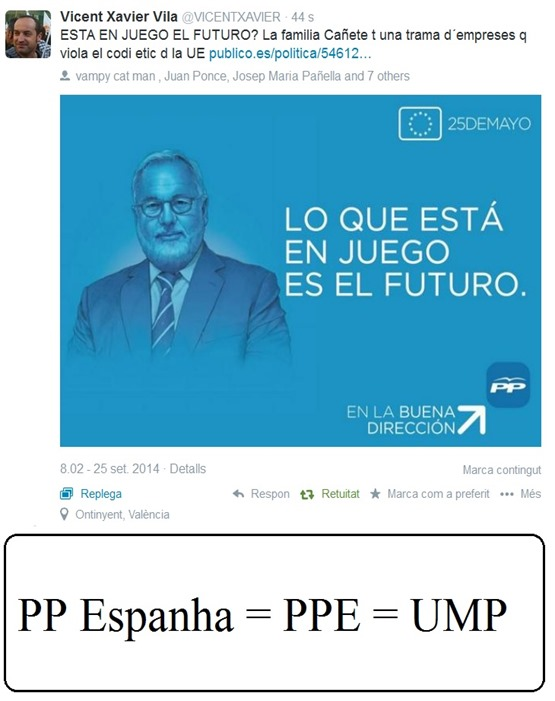 Cañete candidat PP 2