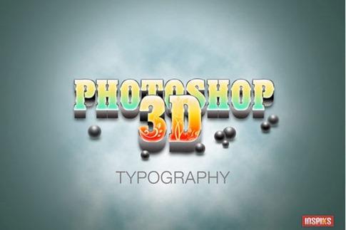 Cómo crear una tipografía 3D realista
