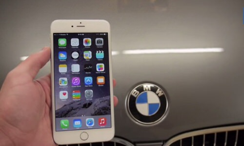 Iphone6 plus bmw durability test
