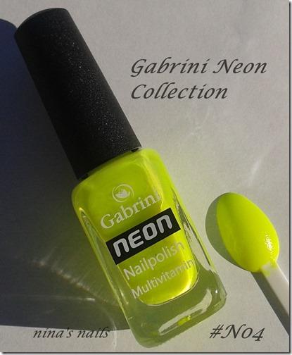 gabrini neon N04