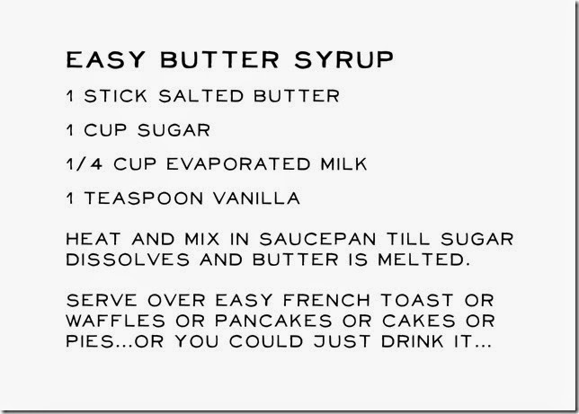 Recipe-Butter Syrup copy