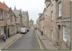 Streets of St Andrews - Bishops Palace at end (Small)