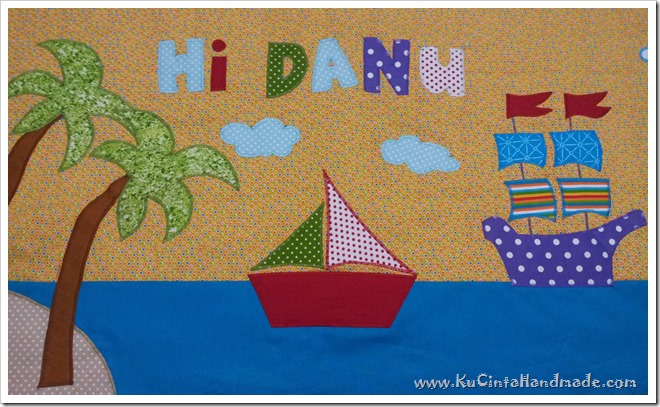 Sarung Bantal Cinta Aplikasi Perahu