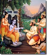 [Rama with the Vanaras]