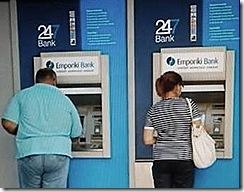 Levantamentos diários de milhões de euros na Grécia. Jun.2012