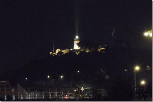 夜裡的東望洋燈塔