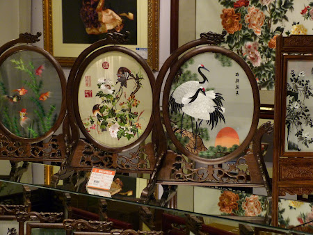 Shopping China: opera de matase