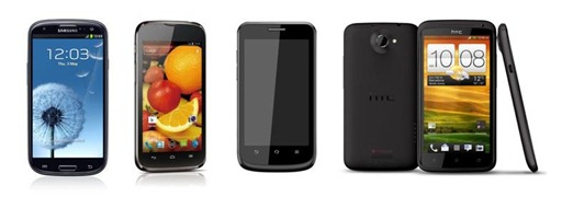 Globe 4G LTE Devices - Samsung GALAXY S III, Huawei Ascend P1 LTE, ZTE T81, HTC One XL