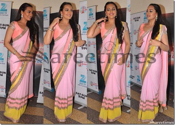 Sonakshi_Sinha_Pink_Saree(1)